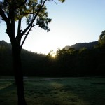 Sunrise at Newnes