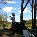 Michael teaching us about seed propagation