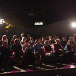 Audience regroups